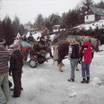 Loučení se sněhem, maškarní karneval Čenkovice 2009